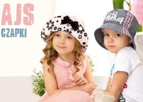 Детские шапки AJS Лето 2019